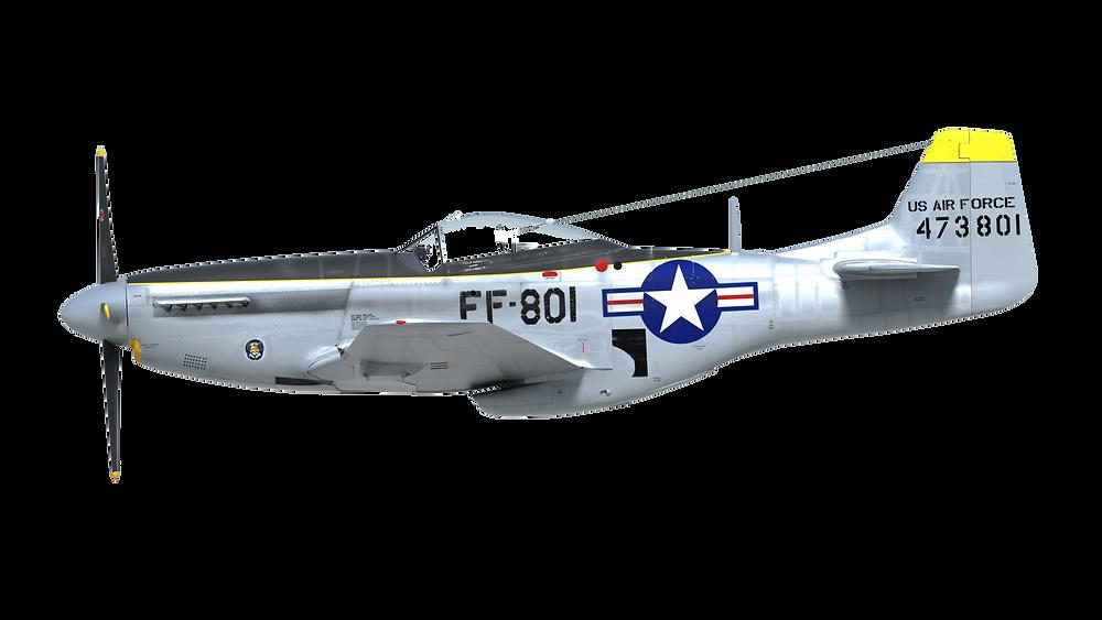 Air Force 801 P-51