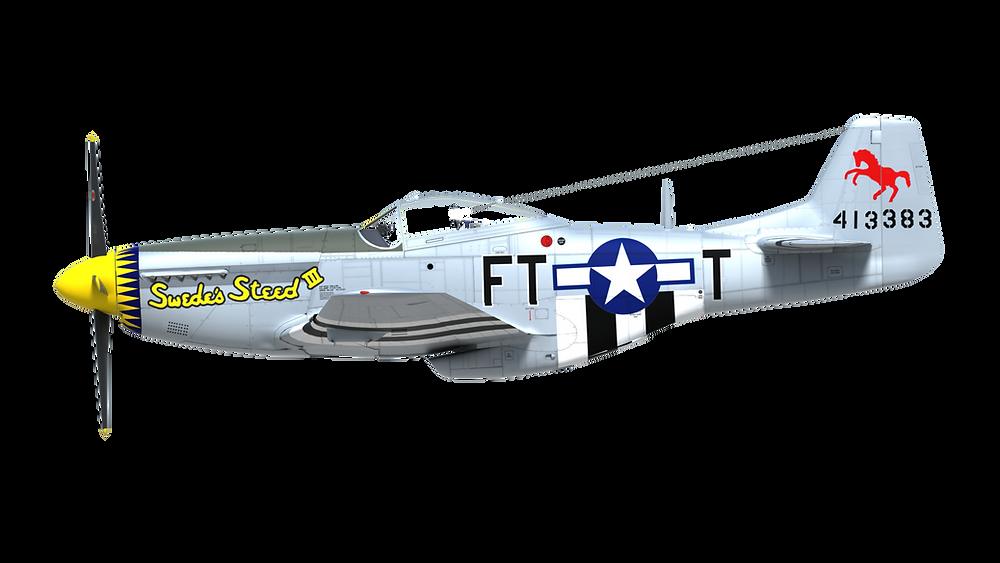 Sweed Steed P-51