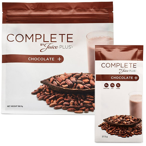 Complete by Juice Plus+® Chocolate Shake Combi Box (6 Beutel)