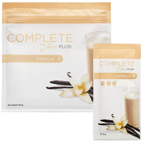 Complete by Juice Plus+® Vanilla Shake Combi Box (6 Beutel)