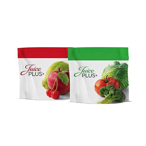 Juice Plus+® Obst und Gemüse Pastillen (2x2 Beutel)