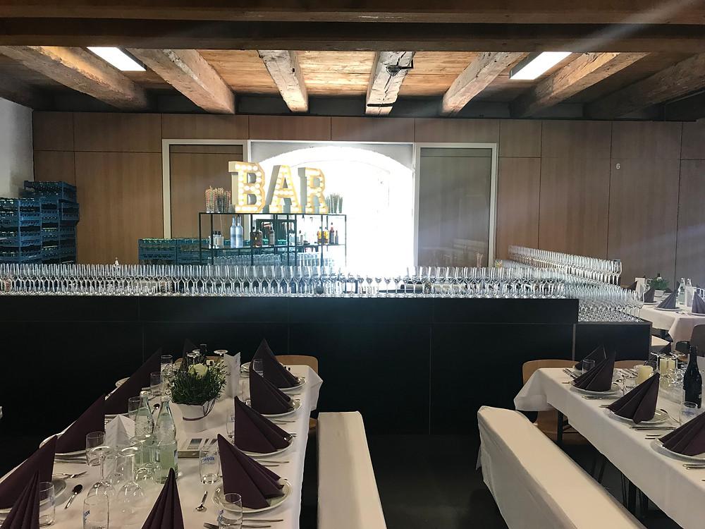 Cocktailcatering für die Schule Schloss Salem