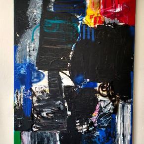 #9 Under the surface: Acryl auf canvas