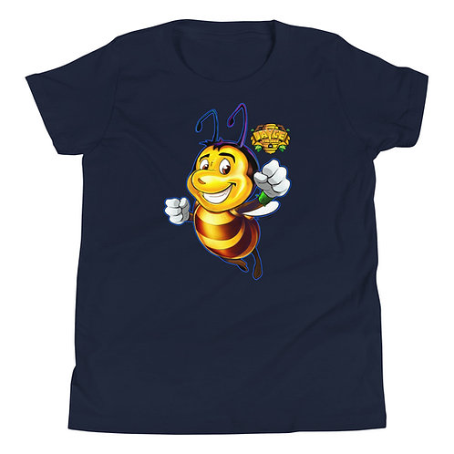JAYCE THE BEE: Bee Amazing Youth Short Sleeve T-Shirt