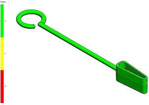 Sewing Machine Thread Hook - Flow Sim1 -