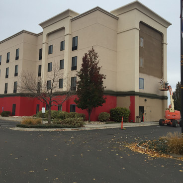 Hampton Inn Construction