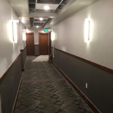 Crescent Rim Condominium Hallway