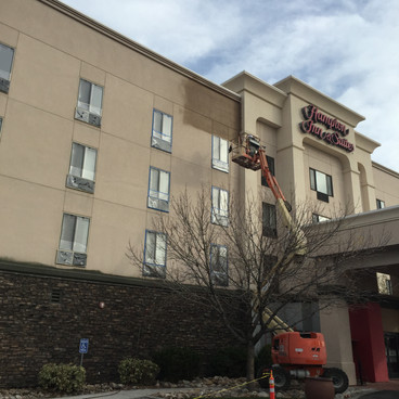 Hampton Inn Repaint