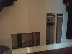 Closet pipe repairs