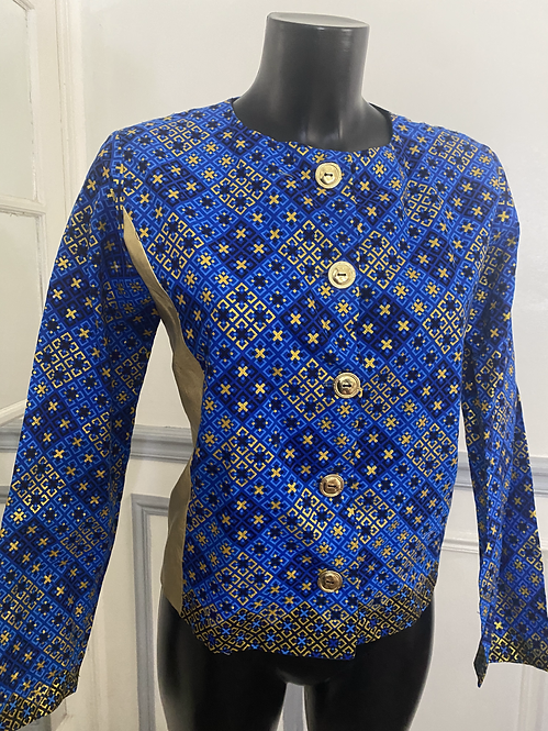 Veste Golden touch blue