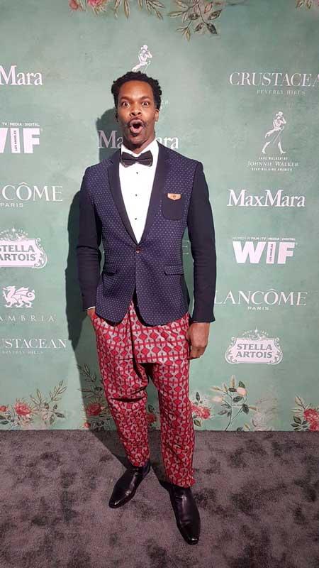 L'acteur Asto à Cannes