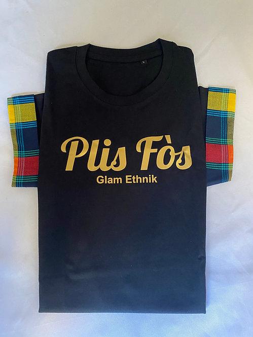 "Tee-Shirt ""Plis fôs"" madras"