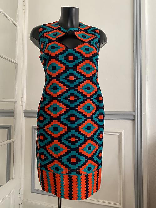 Robe kenté Glam Ethnik