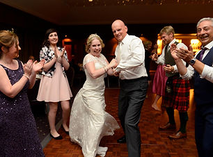 kirstys wedding with dancing feet ceilid