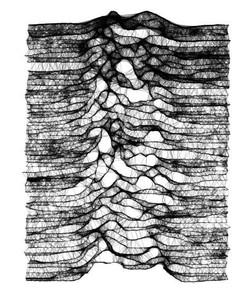 Burned-out knitwear design