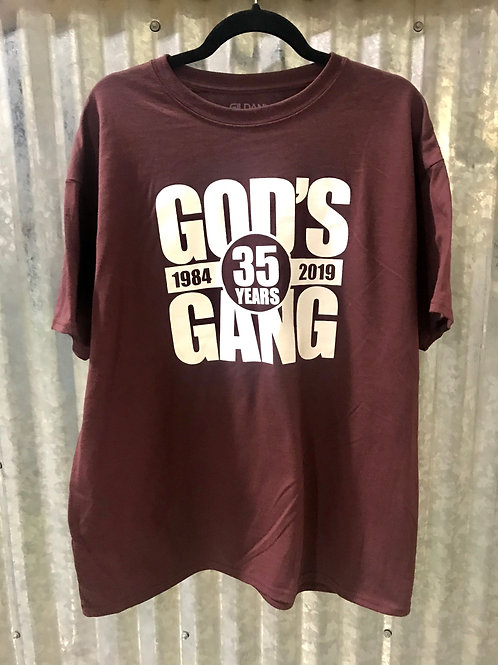35th Year God's Gang T-Shirt