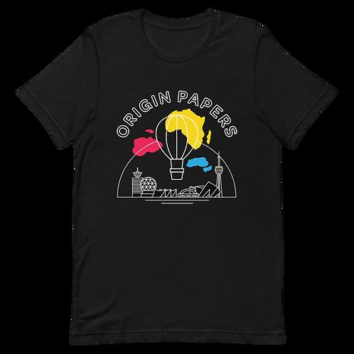 Origin Papers Cityscape T-Shirt Black