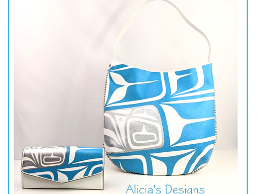 "Alicia's Designs: ""First Nations Art Meets Fashion"""