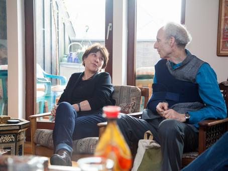 Diskussion mit Talia Sasson, Präsidentin des New Israel Fund