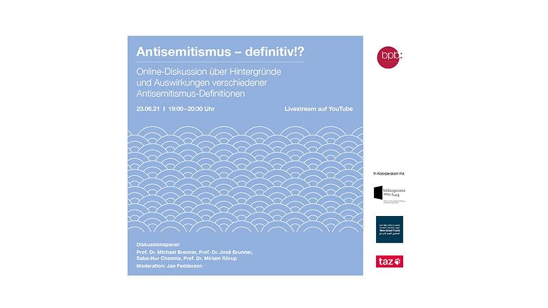 Antisemitismus - definitiv!?