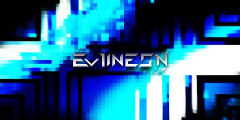 EvilNeon Retro Blue