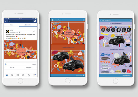 Facebook Canvas Ad Mock-Up by Jay Harris