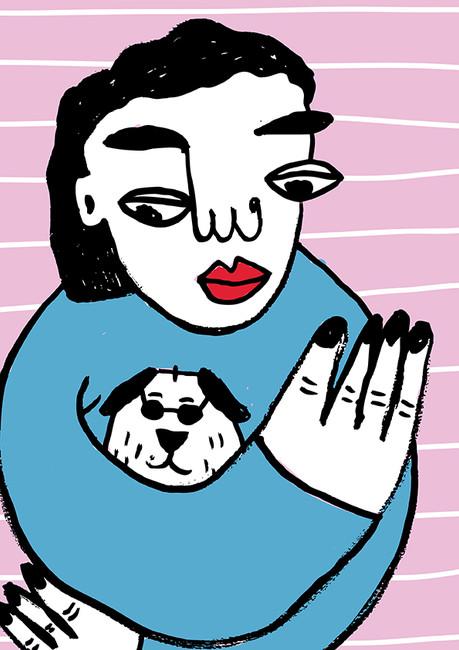 Kristina Illustration - Mutt Magazine.jp