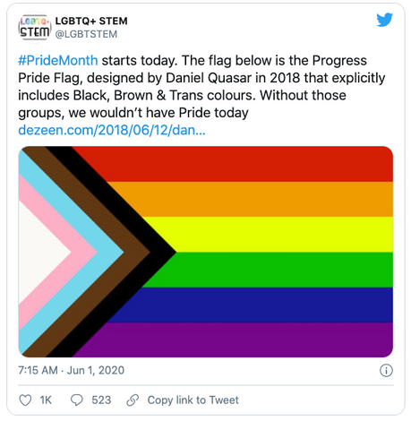 Progress Flag Twitter