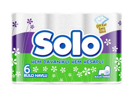 SOLO RULO HAVLU 6'LI