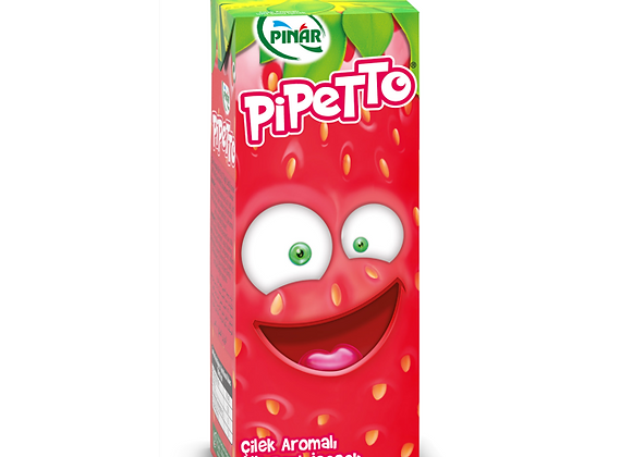 PINAR PİPETTO ÇİLEKLİ 180 ML