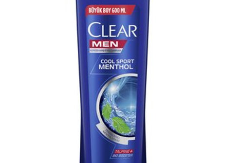 CLEAR MEN COOL MENTOL 600 ML