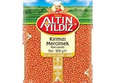 ALTINYILDIZ MERCIMEK 900 GR.KIRMIZI FUTBOL