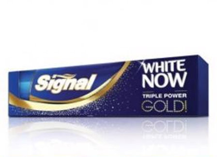 SİGNAL WHİTE NOW GOLD 75 ML