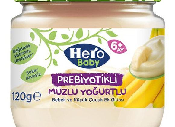 HERO BABY MUZLU YOĞURTLU 120 GR