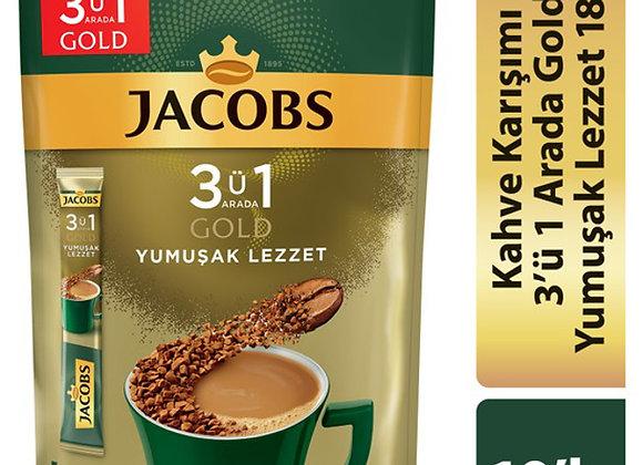 JACOBS GOLD YUMUŞAK LEZZET 3 Ü 1 ARADA 10 LU