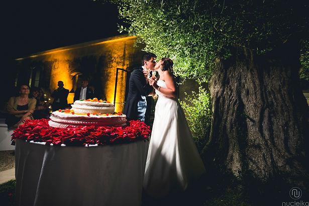 Nucleika wedding in taormina, Sicily wedding cake