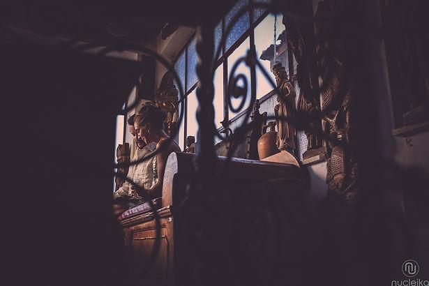 due sposi nel bar turrisi di castelmola taormina sicilia
