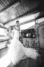 la sposa è pronta ad incontrare il suo sposo