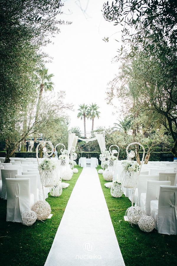 nucleika wedding scenography