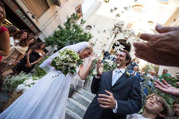 Nucleika danza durante il matrimonio in Sicilia a Catania