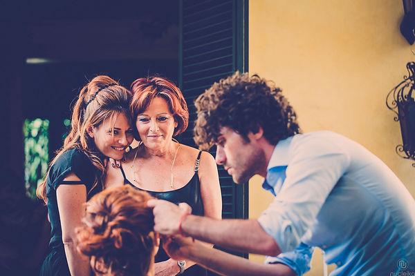 la sposa matrimonio trucco