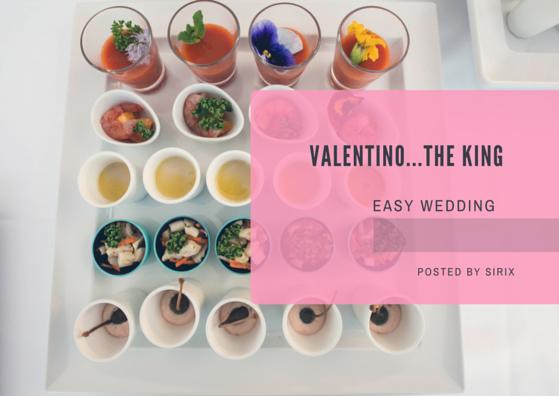 Catering per matrimonio di Valentino