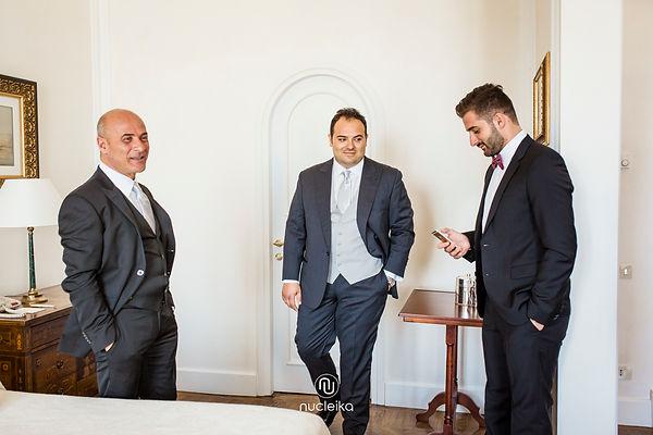 nucleika wedding groom in taormina