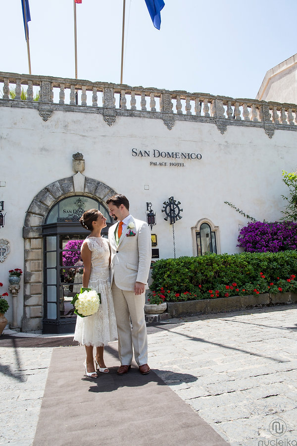 Sposarsi nel hotel san Domenico di Taormina con amore e passione per il wedding reportage