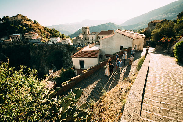 savoca panorama in sicily italy