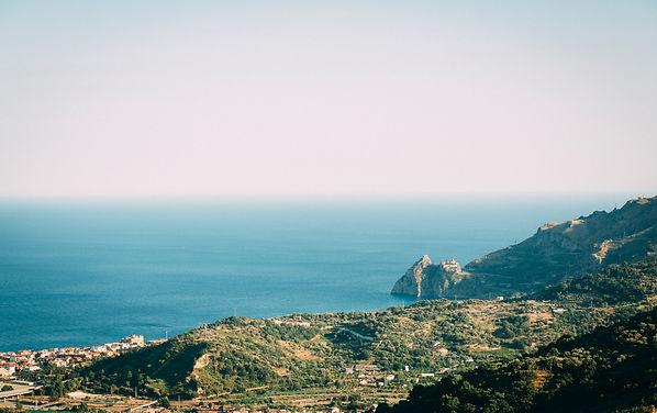 wonderful panorama from savoca sicily italy