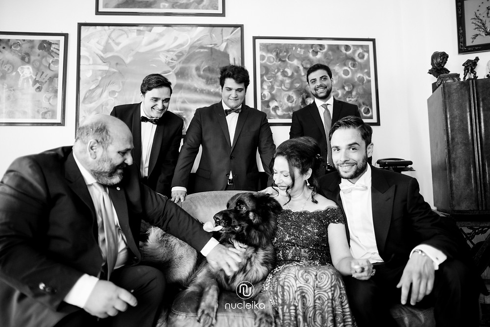 family wedding day nucleika