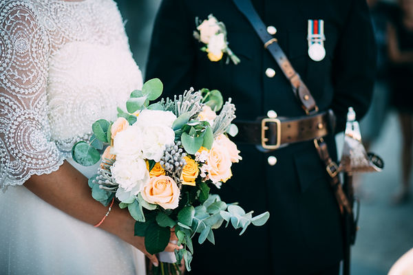 wedding bouquet in sicily italy