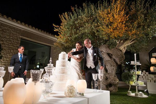 la torta nuziale, the wedding cake