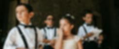 nucleika children at wedding luxury